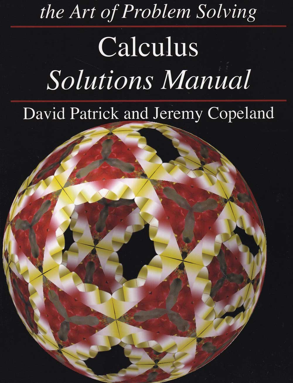 Art of Problem Solving Calculus Textbook and Solutions Manual 2-Book ...