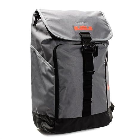 Amazon.com  Nike LeBron Max Air Ambassador Backpack Cool Grey Black  Shoes 971e9d32cc