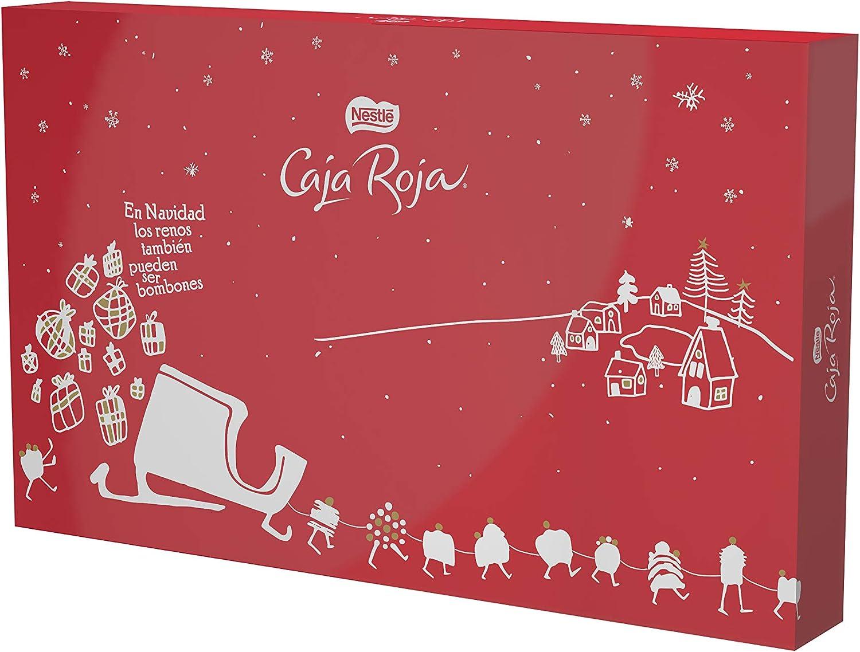 Nestlé Caja Roja Bombones De Chocolate Estuche Navidad - Caja edición limitada de 2Kg: Amazon.es: Alimentación y bebidas