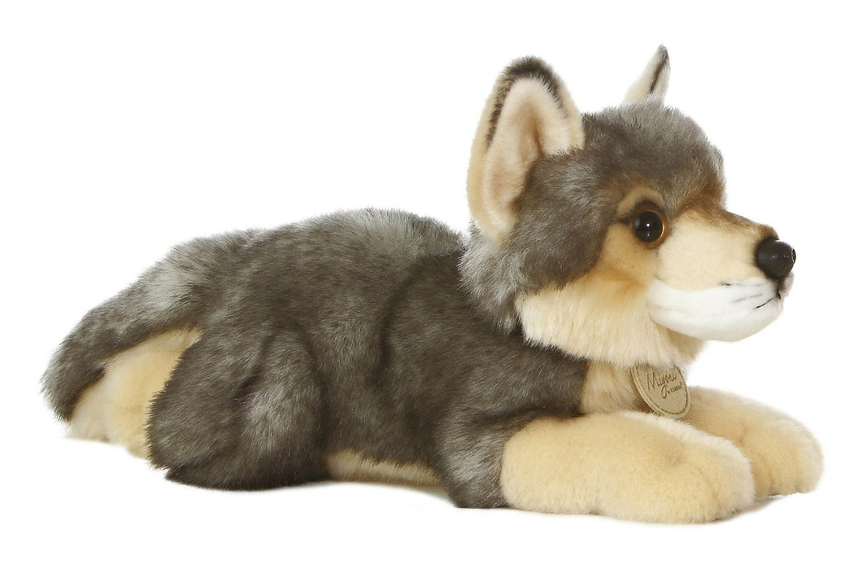 Aurora Plush Wolf Medium 10.5'' by Aurora