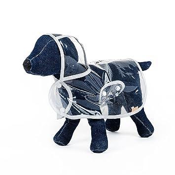 Lingyun Impermeable para Mascotas,Poncho para Perros Pequeños, Paraguas De Perro, Diseño De