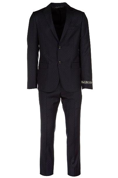 competitive price 5d068 014d6 Gucci Abito Completo Uomo Originale Blu: Amazon.it ...