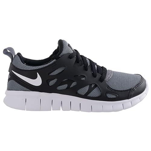 Nike Free Run 2 (GS) Laufschuhe cool grey white black 36