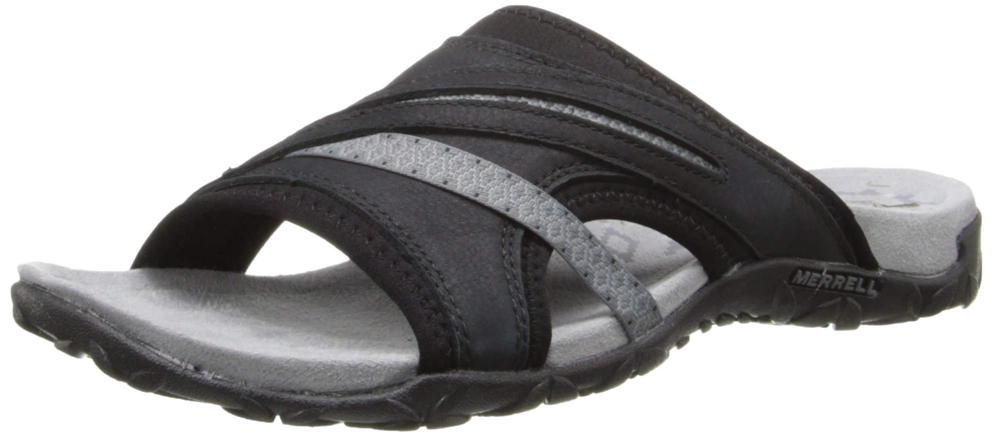 Merrell Women's Terran Slide II Sandal, Black, 8 M US by Merrell