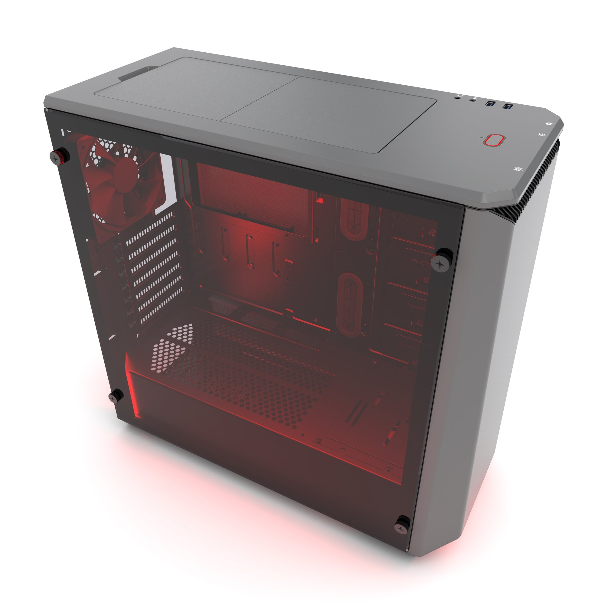 Phanteks PH-EC416PSTG_AG Eclipse P400S Silent Edition with Tempered Glass, Anthracite Grey Cases by Phanteks (Image #2)