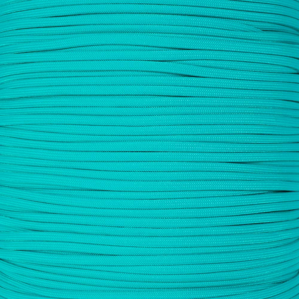 PARACORD PLANET 10', 20', 25', 50', 100' Hanks & 250', 1000' Spools Parachute 550 Cord Type III 7 Strand Paracord Over 200 Colors