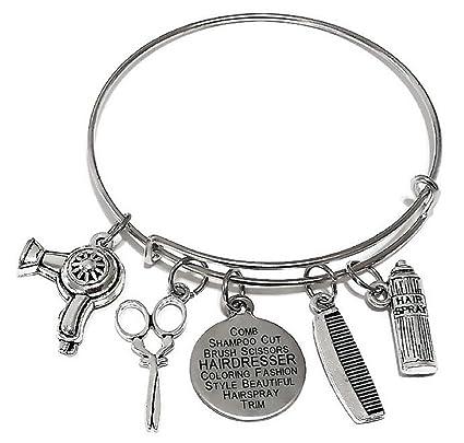 Amazon.com: Peluquería pulsera, pulsera de joyas de ...