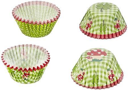 Birkmann 440395 Muffin-Förmchen Glück, klein