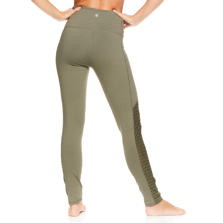 144f9dea45e4e Amazon.com: Gaiam Women's Om High Rise Waist Yoga Pants - Performance  Spandex Compression Leggings: Clothing