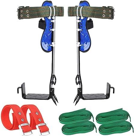 CABINA HOME Juego de herramientas para escalada de árboles, cinturón de seguridad ajustable (2 dientes)