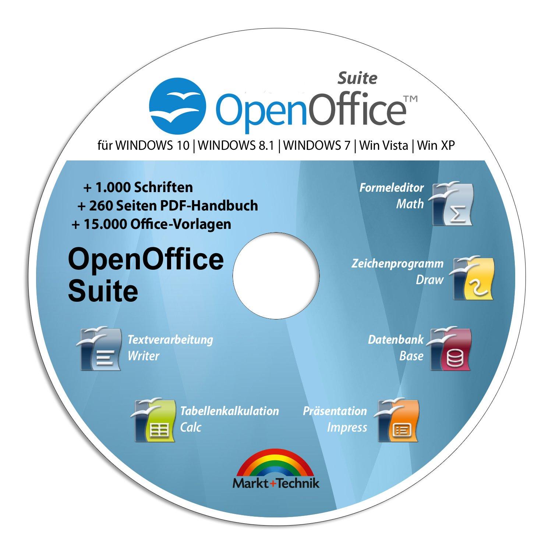 Open Office Suite 2018 Home Student Professional - 100% kompatibel ...