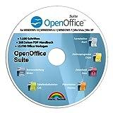 Open Office Suite 2017 Home Student Professional - 100% kompatibel mit Microsoft® Office® Word® und Excel® für Windows 10-8-7-Vista-XP