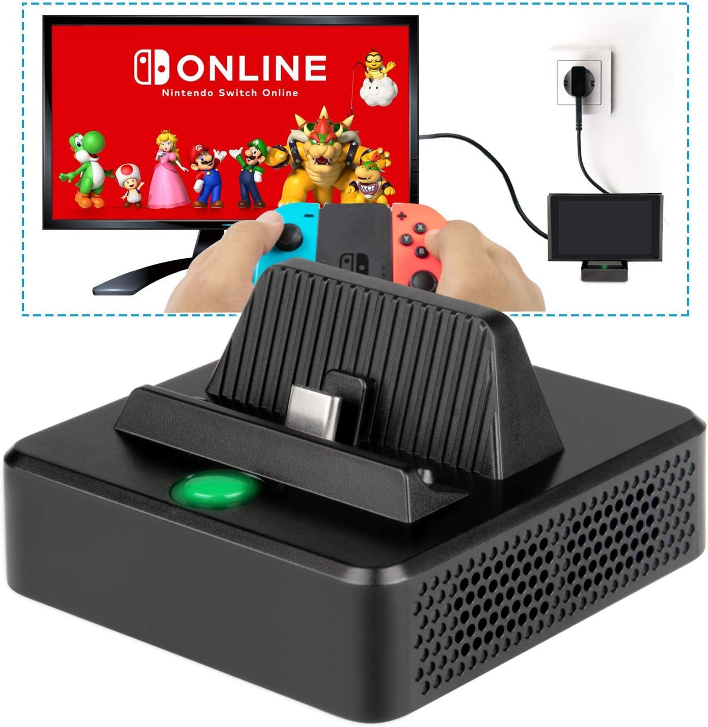 Base de Carga para Nintendo Switch- innoAura Base de Carga ...