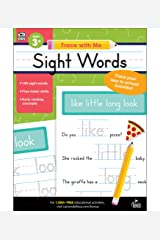 Carson Dellosa | Trace with Me: Sight Words Handwriting Activity Book | Preschool–2nd Grade, 128pgs Paperback