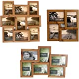 """4, 6 or 9 Multi Picture Collage Family & Friends Pine 4""""x6"""" Wall Photo Frame Birthday[4 Picture Frame]"""