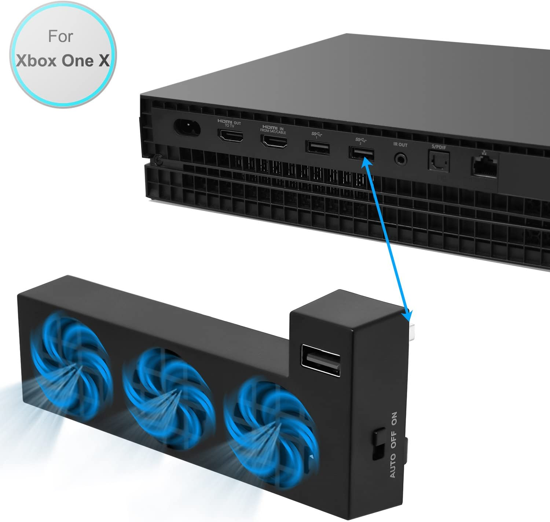 FASTSNAIL - Ventilador de refrigeración para Consola Xbox One X Gaming: Amazon.es: Electrónica