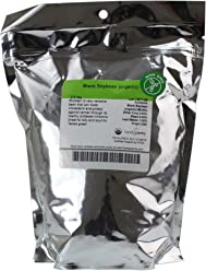 Organic Black Soy Beans -2.5 Lb - Black Soybeans - Non-GMO - For