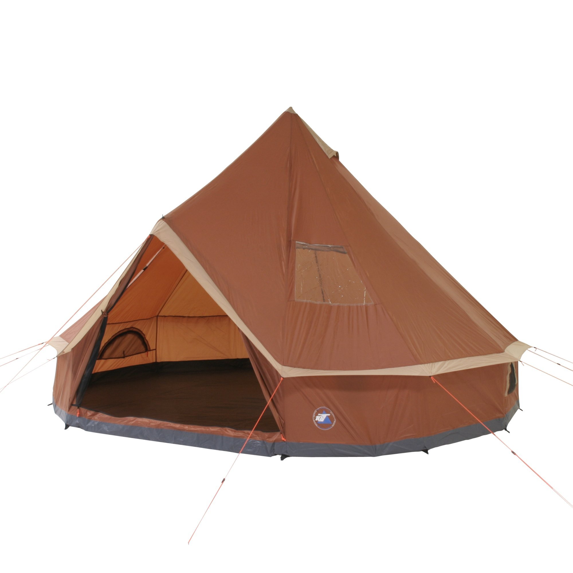 10T Outdoor Equipment 10T Mojave 400 Tienda de Teepee, Unisex, marrón, Estándar product
