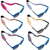 Ava & Kings 6pc Kids Neoprene Glasses Holder Neck Strap AntiSlip Sports Retainer