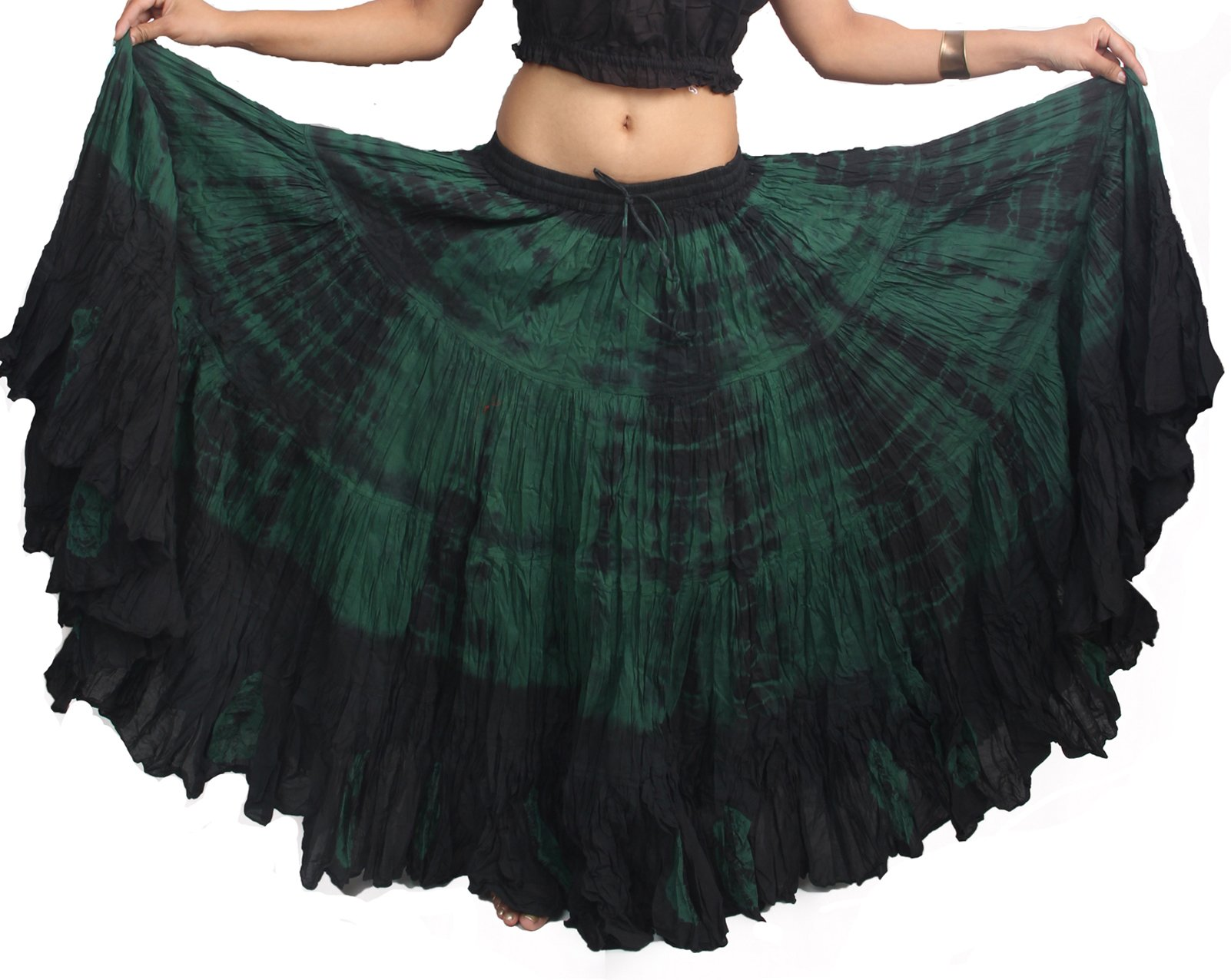 Wevez Women's American 25 Yard Cotton Skirt