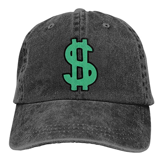 Gorras de béisbol hombre/mujerDollar Sign Mens Womens Adjustable ...