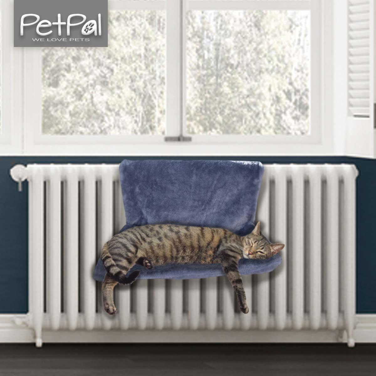 Radiateur de petpäl | Idéal kuscheliger chat Panier | le chat lit pour les Chauffage | Hamac parfaite pour le chat | chat Chauffage Hamac |einfach Radiateur à suspendre