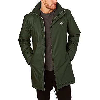 f2a7e5ae9eec2 Adidas Originals Jackets - Adidas Originals Long Down Parka Jacket - Night  Cargo F15  Amazon.co.uk  Sports   Outdoors