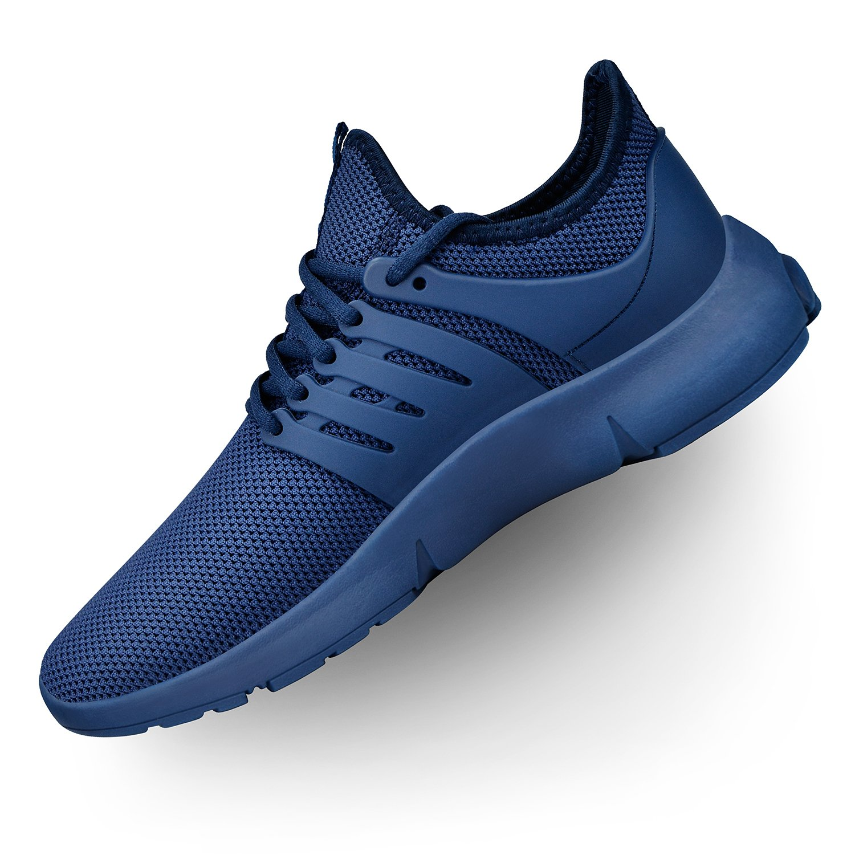Troadlop Women's Athletic Walking Shoes Gym Casual Mesh-Comfortable Running Work Sneakers 9 US Blue