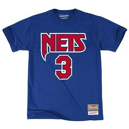 Camiseta de Drazen Petrovic de los New Jersey Nets nombre y número (S)