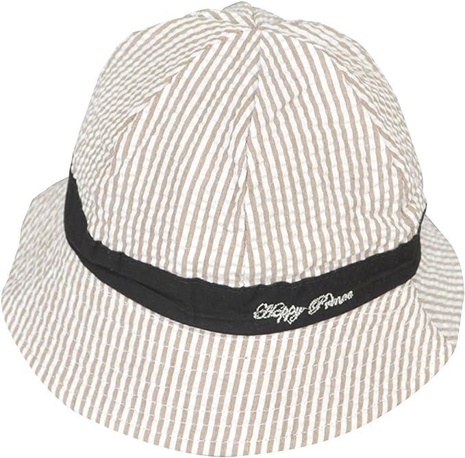 4ans Chapeau de Protection pour Enfants Fille Gar/çons Anti-crachat Chapeau Couverture de Visage t/ête Noir HomeDecTime Chapeau de p/êcheur pour Enfant 2 Ans 48-51cm