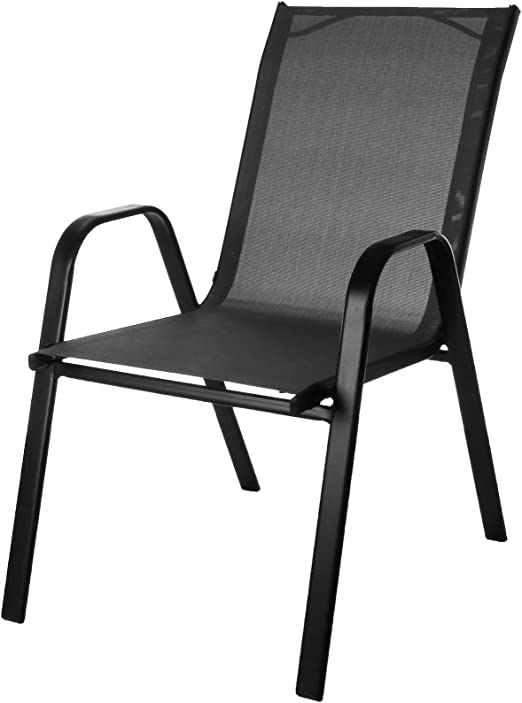 Ensemble de chaises d'extérieur empilables Marko Outdoor en