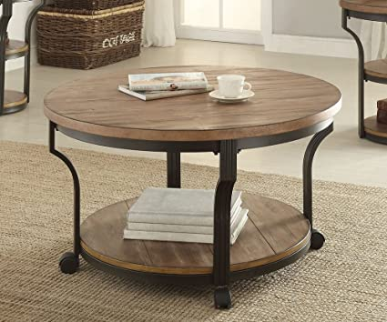 round black coffee table. 1PerfectChoice Geoff Round Oak Black Coffee Table Round Black Coffee Table E