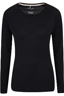 38c649fb096bb Mountain Warehouse IsoCool Dynamic Womens Top - Comfortable Ladies Tshirt, Long  Sleeve Top,…