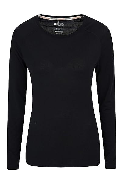 9420f6d259b4c Mountain Warehouse Top IsoCool Dynamic para Mujer - Camiseta cómoda para  Mujer