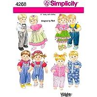 Simplicity 4268 - Patrón de Costura para Ropa