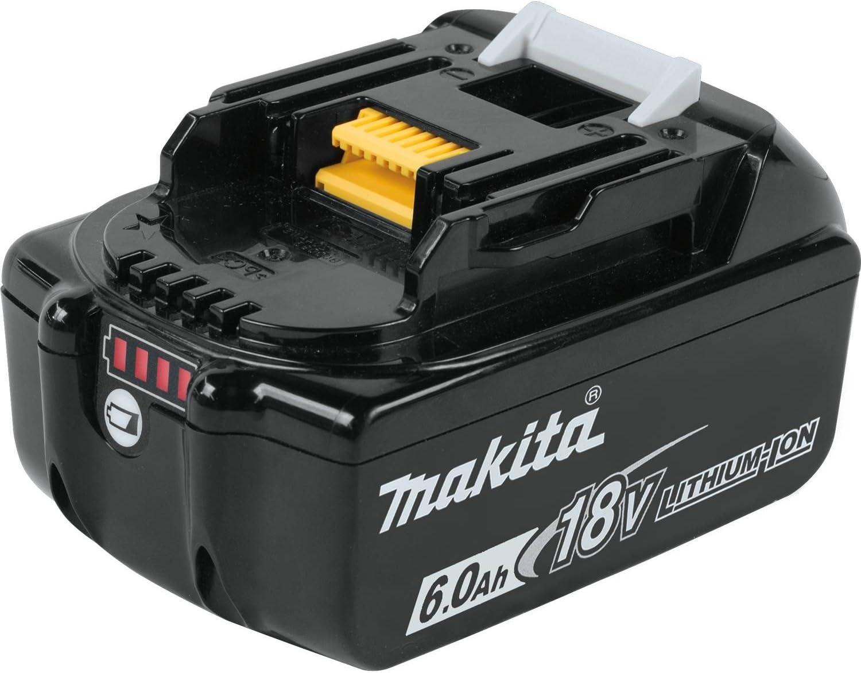 Makita BL1860B 18V LXT Lithium-Ion 6.0 Ah Battery