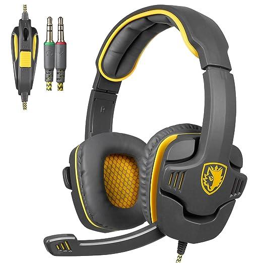 150 opinioni per Sades SA708 3,5 millimetri audio surround Stereo PC Gaming Headset fascia cuffie