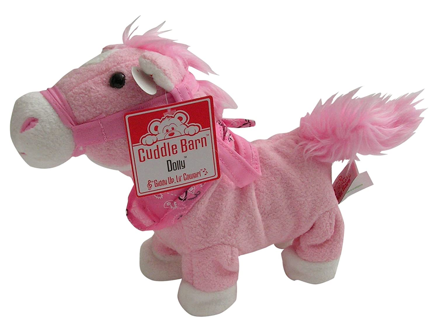Cuddle Barn Dolly The Pink Pony Toy