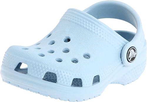 taglia 40 391a1 ab752 Crocs Littles Sabot B, Ciabatte Unisex-Bambini