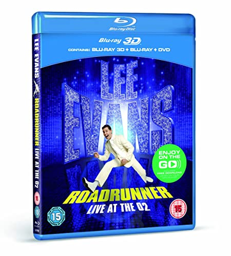 Lee Evans - Roadrunner - Live At The O2 (3D)