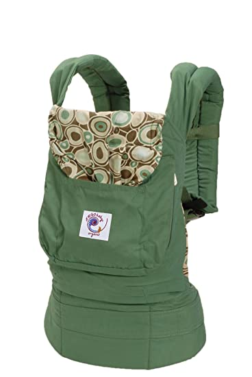 Ergobaby Organic Baby Carrier, Green River Rock (Discontinued By  Manufacturer)