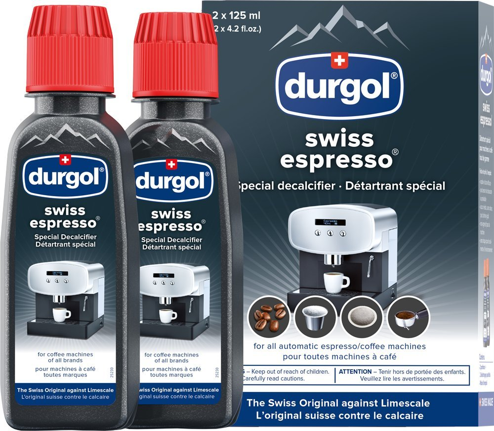 Durgol Swiss Espresso Machine Descaler/Decalcifier Solution, 4 Count product image