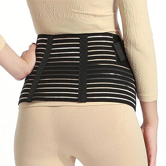 Cinturón de maternidad – cintura apoyo/espalda/abdomen banda vientre embarazo Brace, color blanco o negro, S M L XL 2XL negro negro L: Amazon.es: Deportes y ...