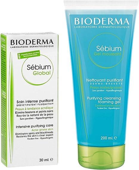 Bioderma Sebium Global + Sebium Gel Mousse Pack: Amazon.es: Belleza