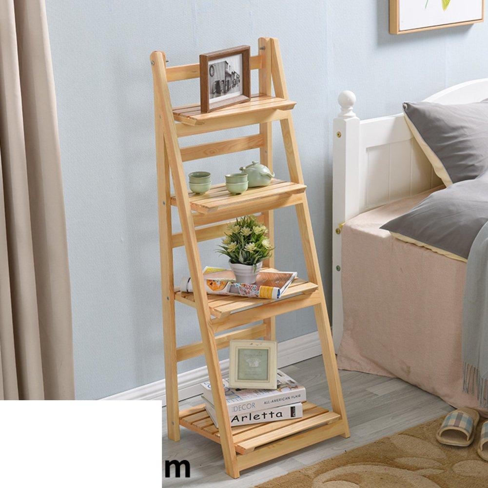 Balcony flower/solid wood multi-layer racks/living room showy/simple folding pot holder-B by SHDUAYGSCXS