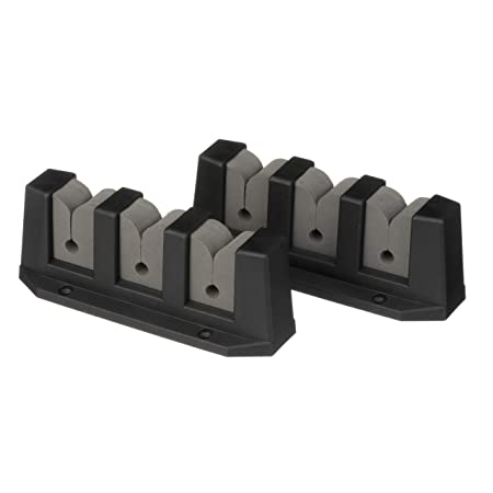 SEACHOICE 89501 3-Rod Storage Holder Black Abs Plastic