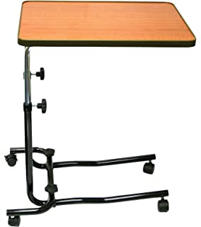 tavolo ausiliare o vassoio da letto, per sedia a rotelle, per ... - Tavolino Per Letto Con Rotelle