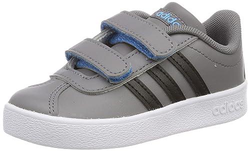 brand new f0f51 e3523 Adidas VL Court 2.0 CMF I, Zapatillas de Deporte Unisex niño,  (GricuaNegbásCiasho 000), 23.5 EU Amazon.es Zapatos y complementos