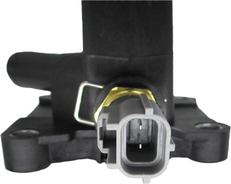 Engine Coolant Outlet Flange Compatible for 2012-2018 Ford Focus 2.0L L4