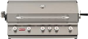 Bull Outdoor Products BBQ 57569 Brahma 90,000 BTU Grill Head, Natural Gas